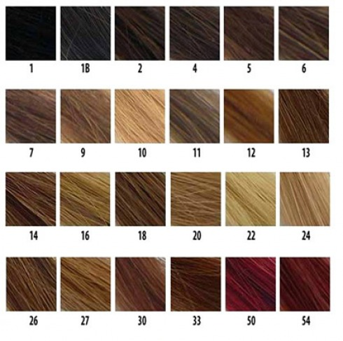 Hair Color Chart on Hair Color Chart